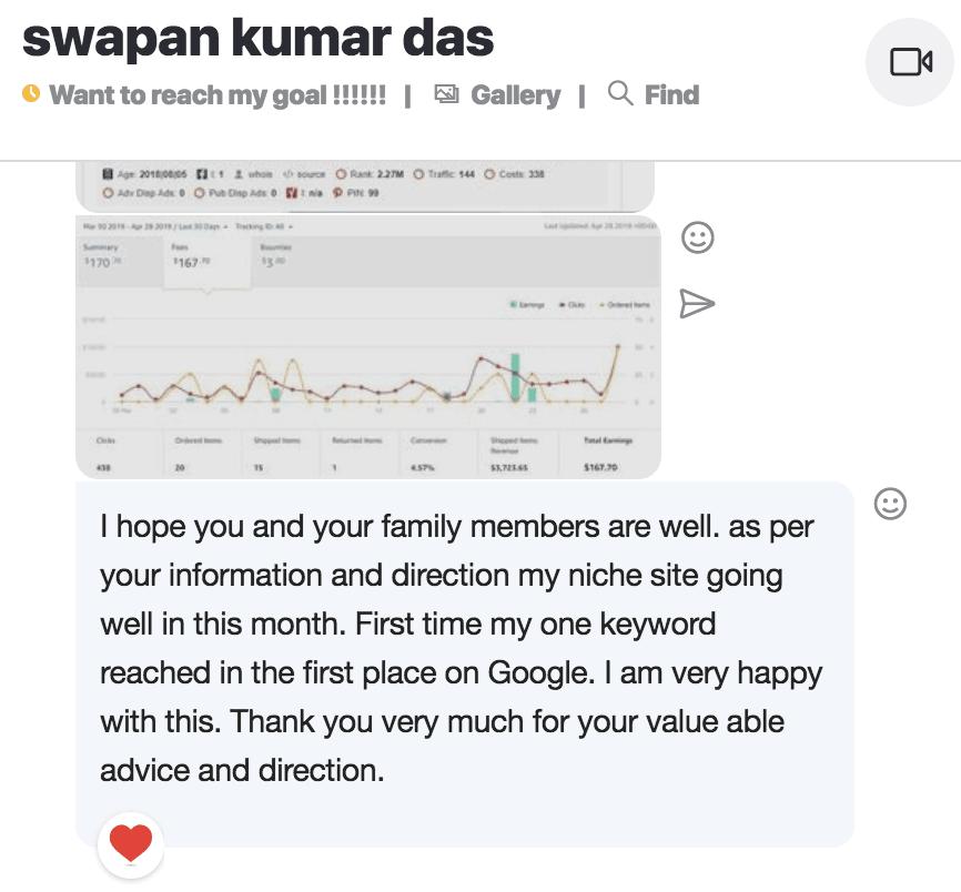 success screenshot